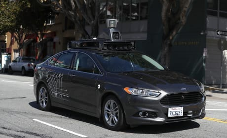Uber Self-Driving Car Photo