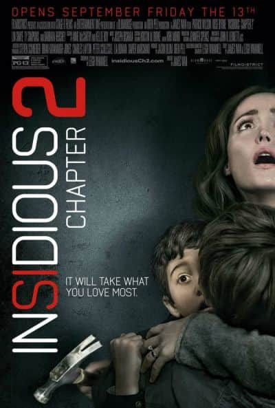 Insidious Chapter 2 Motion Poster