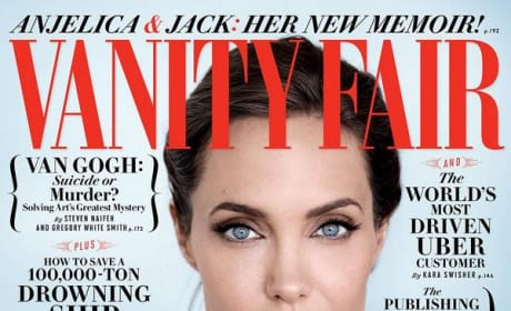 Angelina Jolie Vanity Fair Cover Photo