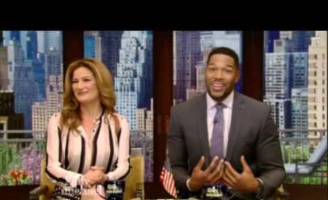 Michael Strahan Announces Live! Departure
