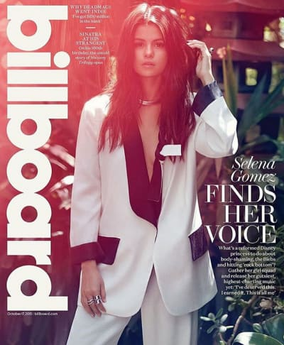 Selena Gomez Billboard Photo