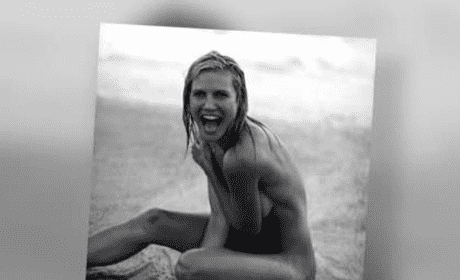 Heidi Klum Nude Photo Throwback