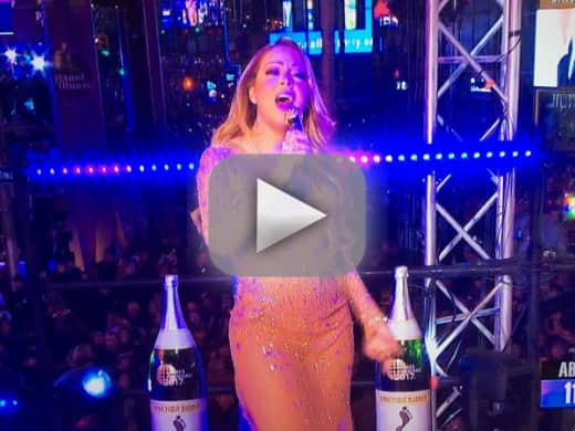 Mariah carey worst new years eve performance ever