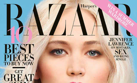 Jennifer Lawrence on Harper's Bazaar