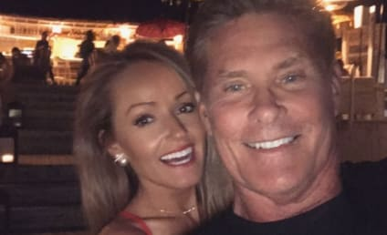 David Hasselhoff and Hayley Roberts: Married!