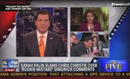 "Sarah Palin Says Chris Christie Has ""Panties in a Wad"" Over Newt Gingrich Surge"
