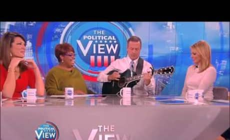 Martin O'Malley Sings Taylor Swift on The View
