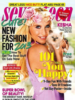 Ke$ha Seventeen Cover
