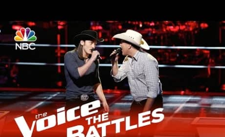 Cody Wickline vs. Matt Snook (The Voice Battle Round)