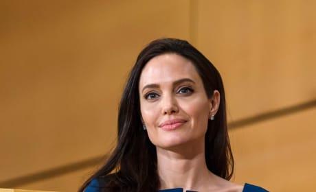 Angelina Jolie in Blue