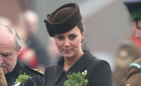 Kate Middleton Rocks Shamrocks