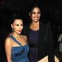 Kim Kardashian and Rachel Roy Looking Great