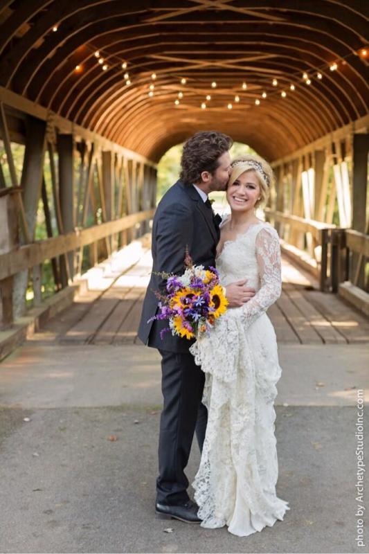 Kelly Clarkson Wedding Photo