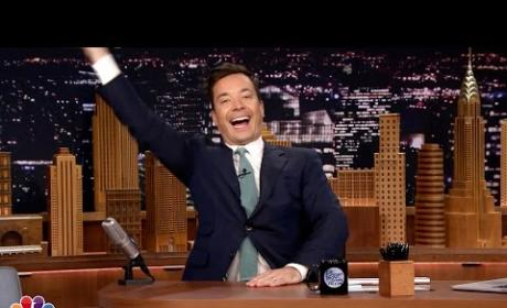 David Letterman Retirement Brings Jimmy Fallon to Tears
