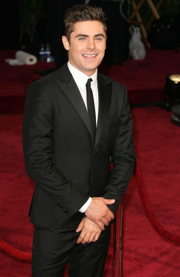 Zac Efron at the Oscars