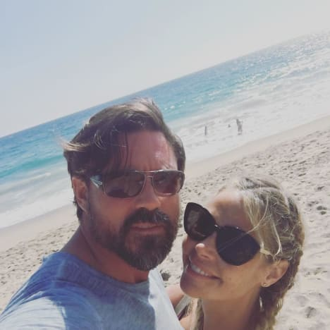 Denise Richards and Husband Aaron Phypers