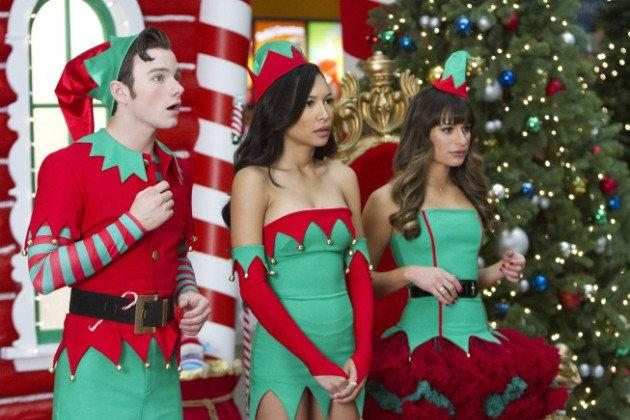 Glee Christmas Pic