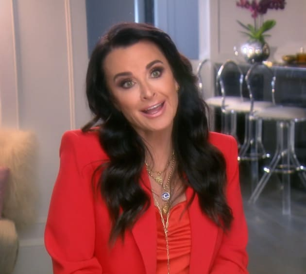 Kyle Richards Posts Nude Photo She Once Feared - Tv Shows Ace
