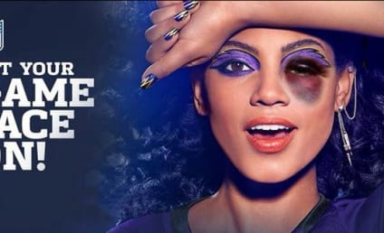 CoverGirl Model Given Black Eye in Viral NFL Poster: Get Your Game Face On!