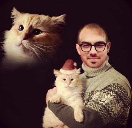 Joe Jonas Christmas Pic
