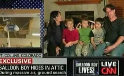 Balloon Boy Hoax? Falcon Heene Busts Parents
