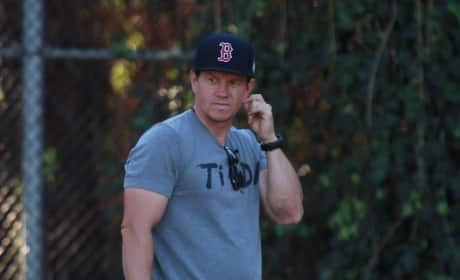 Mark Wahlberg Out and About