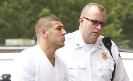Aaron Hernandez Arrest Photo