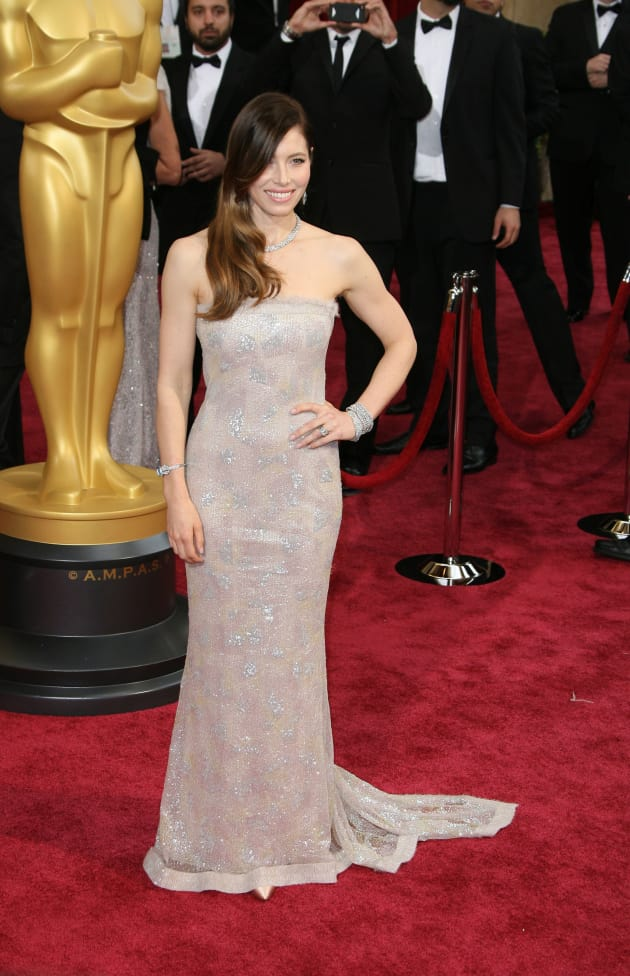 Jessica Biel at the Oscars
