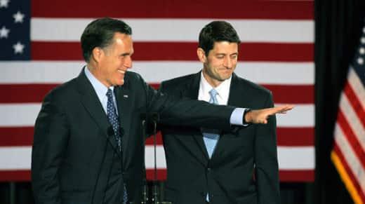 Paul Ryan, Mitt Romney