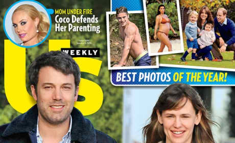 Ben Affleck, Jennifer Garner Us Cover