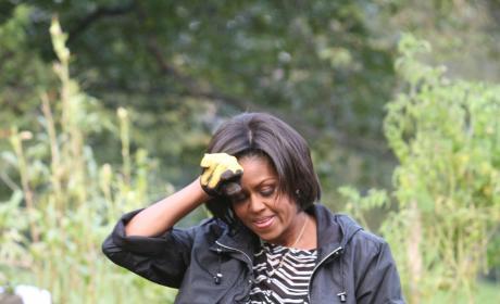 Michelle in the Garden