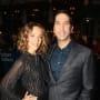 Zoe Buckman and David Schwimmer attend Broadway Show