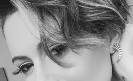 Alyssa Milano Close-Up