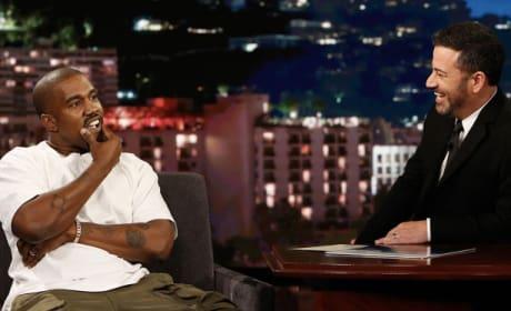 Kanye West Talks Trump, Kim and Porn in Bizarre Jimmy Kimmel Interview