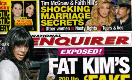 Kim Kardashian: Fake Pregnancy?!?