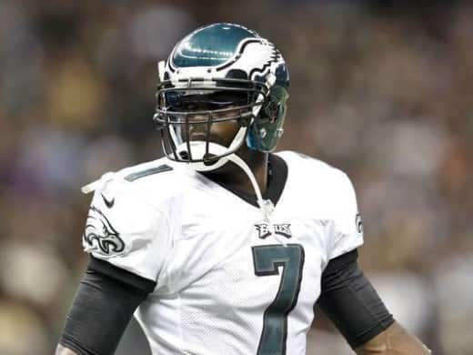 Vick on the Eags