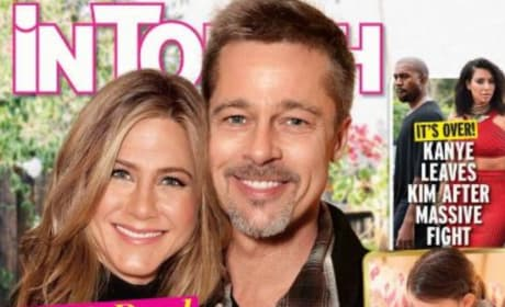 Brad Pitt and Jennifer Aniston Baby Alert?