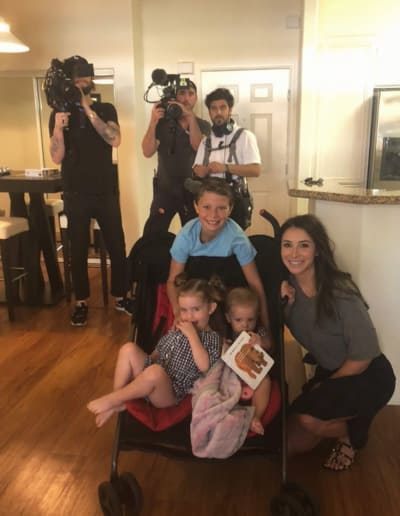Bristol Palin and Crew