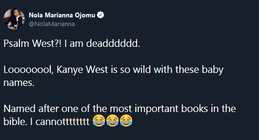 Psalm west reaction tweets gallery post 02