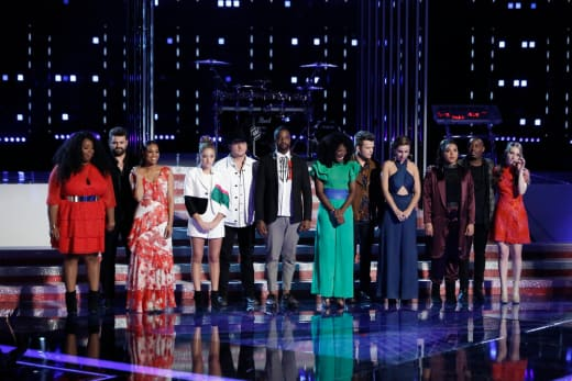 The Voice Season 14 Top 12