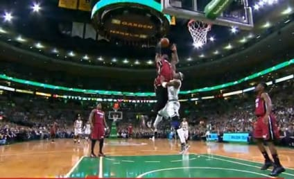 LeBron James THROWS DOWN Alley-Oop Over Jason Terry