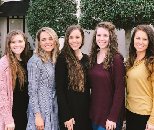 all these duggars women