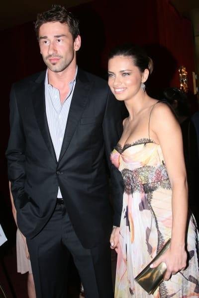 Marko Jaric and Adriana Lima Image