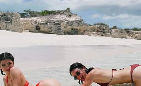 Kylie and Kendall Bikini Photo