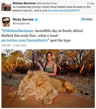 Gervais Tweet