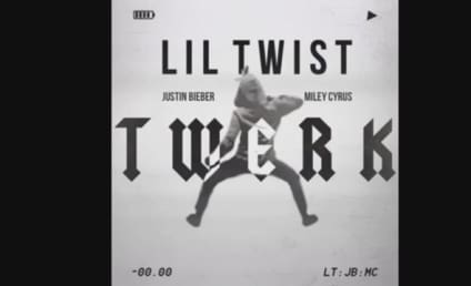 "Lil Twist, Miley Cyrus and Justin Bieber ""Twerk"" in New Song: Listen Now!"