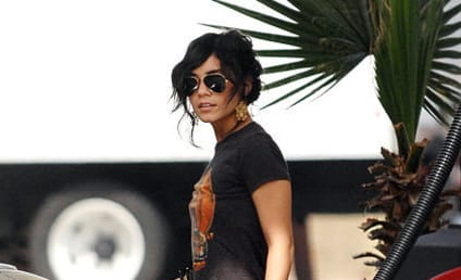 Vanessa Hudgens Knows How to Pump it