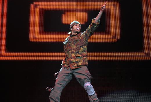 Chris Brown LIVE Concert Photo