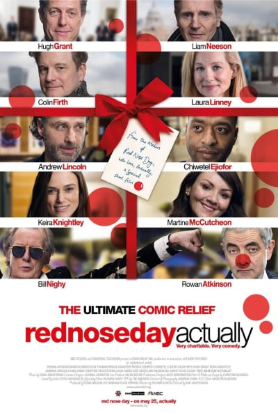 Red Nose Actually Poster