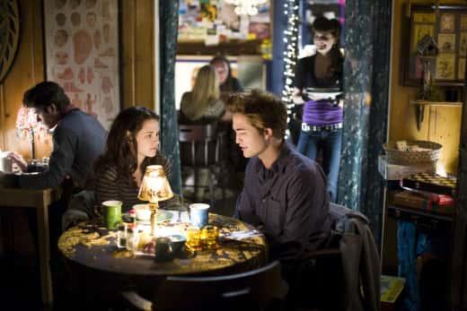 Kristen Stewart and Robert Pattinson in Breaking Dawn